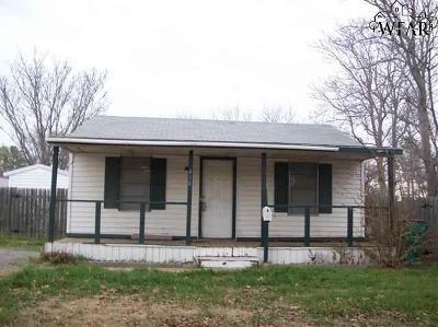 Burkburnett Single Family Home For Sale: 414 Roberts Avenue
