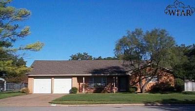 Wichita County Rental For Rent: 4206 Berwick Drive