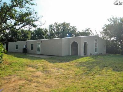 Burkburnett Single Family Home For Sale: 815 E 3rd Street