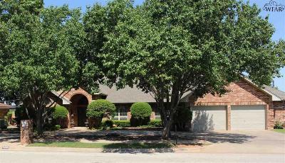 Wichita Falls Single Family Home For Sale: 4206 Briar Cliff Drive