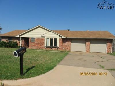 Burkburnett Single Family Home For Sale: 1008 Sugarbush Lane