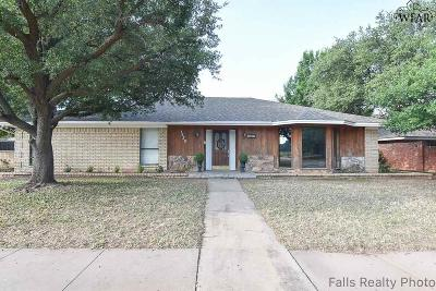 Wichita County Single Family Home For Sale: 1639 Brenda Hursh Drive