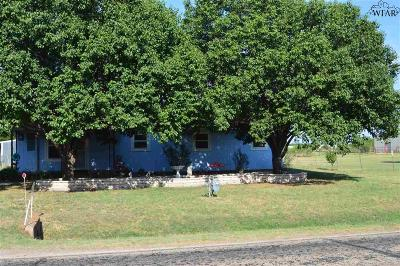 Iowa Park Single Family Home Active W/Option Contract: 1901 S Fm 368
