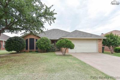 Wichita Falls TX Single Family Home Active W/Option Contract: $148,500