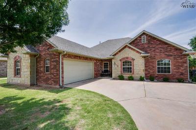 Wichita Falls Single Family Home For Sale: 1715 Rockridge Drive