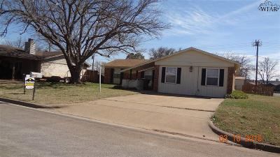 Wichita County Rental For Rent: 1017 Lanelle Drive