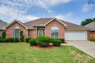 Wichita Falls Single Family Home For Sale: 4910 Whisper Wind Drive