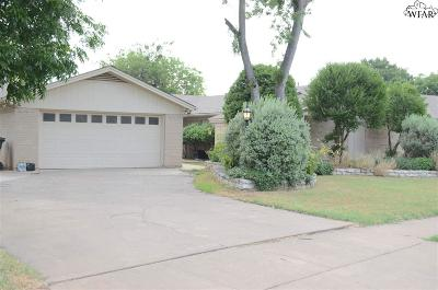 Wichita Falls Single Family Home For Sale: 4310 Scottsdale Lane