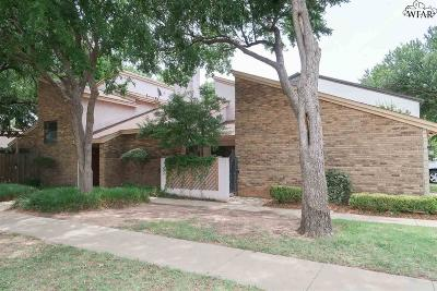 Wichita Falls TX Single Family Home Active W/Option Contract: $132,300