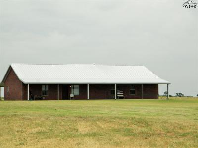 Burkburnett Single Family Home For Sale: 3074 Muller Road