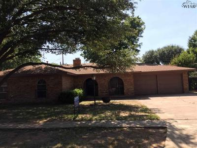 Burkburnett Single Family Home For Sale: 916 Mimosa Drive