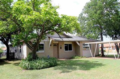 Wichita Falls TX Single Family Home Active W/Option Contract: $89,900
