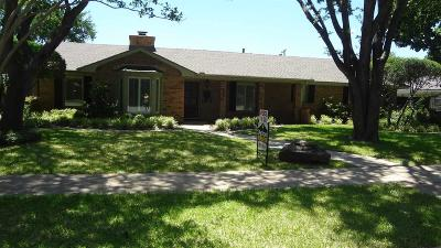 Wichita Falls TX Single Family Home Active W/Option Contract: $269,000