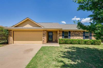 Burkburnett Single Family Home Active W/Option Contract: 1115 Lisa Lane