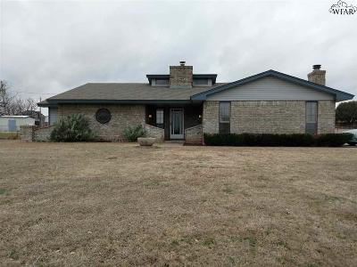 Wichita Falls TX Single Family Home For Sale: $150,000