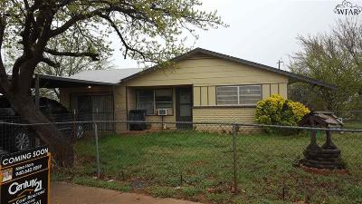 Wichita Falls TX Single Family Home For Sale: $50,000