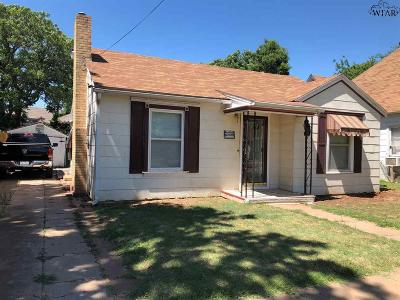 Wichita Falls TX Single Family Home For Sale: $49,500