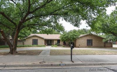 Wichita Falls TX Single Family Home For Sale: $320,200