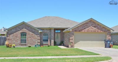 Wichita Falls TX Single Family Home For Sale: $175,000