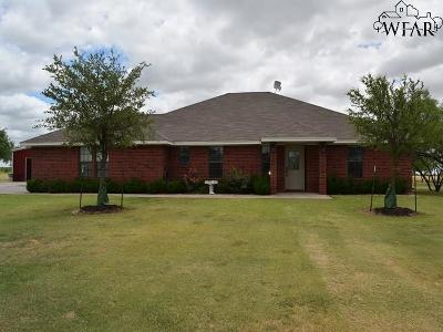 Clay County Single Family Home For Sale: 7821 Fm 2393