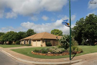 Wichita Falls TX Single Family Home For Sale: $225,000