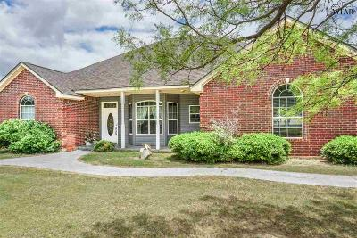 Iowa Park Single Family Home Active W/Option Contract: 3165 Harmony Road