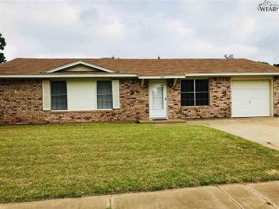 Wichita Falls TX Single Family Home For Sale: $89,000