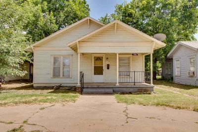 Wichita Falls TX Single Family Home For Sale: $39,900