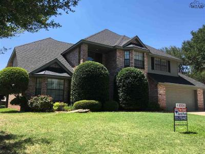 Wichita Falls TX Single Family Home For Sale: $312,000