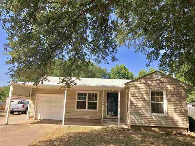 Wichita Falls TX Single Family Home For Sale: $75,000