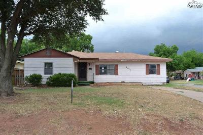 Wichita Falls TX Single Family Home For Sale: $58,500