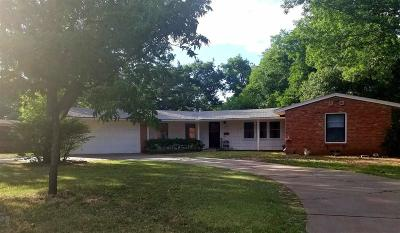 Wichita Falls TX Single Family Home For Sale: $137,500