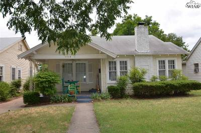 Wichita Falls TX Single Family Home For Sale: $70,000