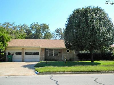 Burkburnett Single Family Home For Sale: 903 S Preston Road