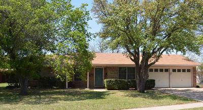 Wichita Falls TX Single Family Home For Sale: $174,000