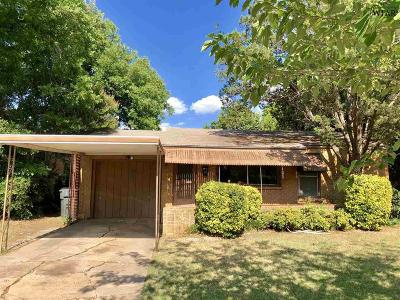 Wichita Falls TX Single Family Home For Sale: $49,900