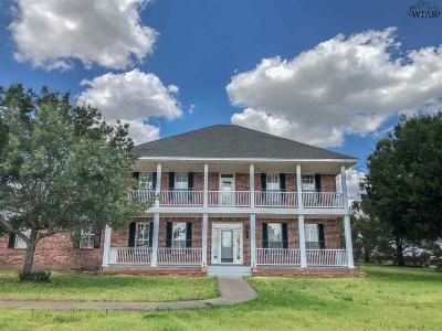 Wichita Falls Single Family Home For Sale: 5624 Vinson