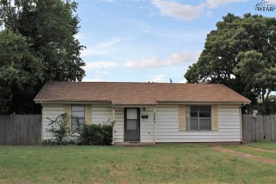 Wichita Falls Single Family Home For Sale: 3003 McGaha Avenue