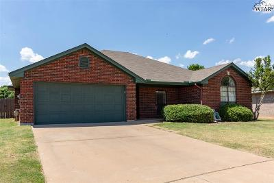 Wichita Falls Single Family Home For Sale: 5314 Pepperbush Drive