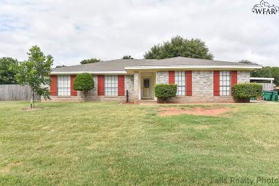 Wichita Falls Single Family Home For Sale: 310 Galleon Drive