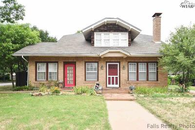 Wichita Falls Single Family Home For Sale: 1416 Hayes Street