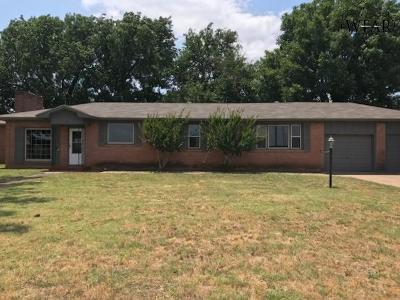 Burkburnett Single Family Home For Sale: 104 Mockingbird Lane