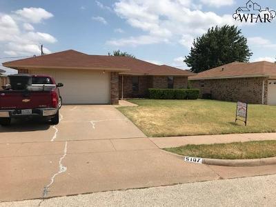 Wichita Falls Single Family Home For Sale: 5107 Dewey Street