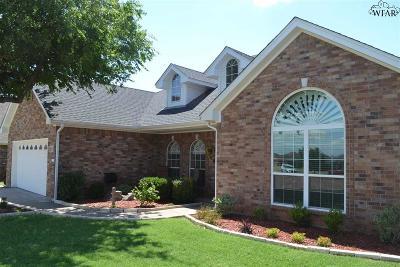 Wichita Falls Single Family Home For Sale: 5 Blazing Star Court
