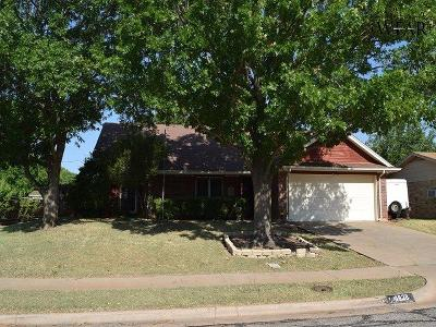 Wichita Falls Single Family Home Active W/Option Contract: 4828 K-Mart Drive