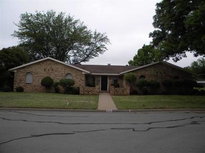 Burkburnett TX Single Family Home For Sale: $172,000