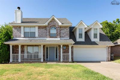 Wichita Falls Single Family Home Active W/Option Contract: 4 Worthington Court