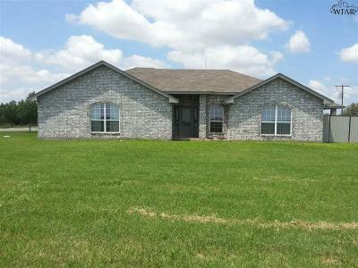 Burkburnett Single Family Home For Sale: 9991 Fm 369