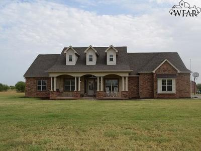 Iowa Park Single Family Home Active W/Option Contract: 2764 Brandon Road