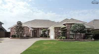 Wichita Falls Single Family Home Active-Contingency: 2805 S Shepherds Glen